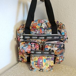 Sports Multicolored Character Cluster Bag